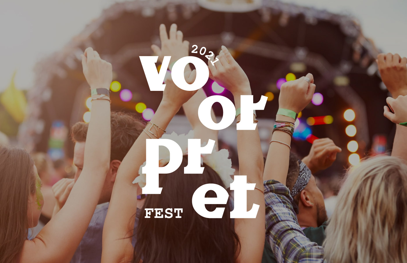 music festival concert logo design visual identity people having fun dancing